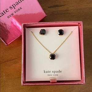 Kate Spade CZ Boxed earring set